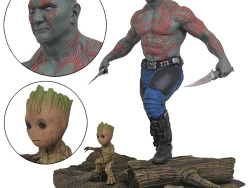 Marvel Gallery Guardians of the Galaxy Vol. 2 Drax and Baby Groot Statue