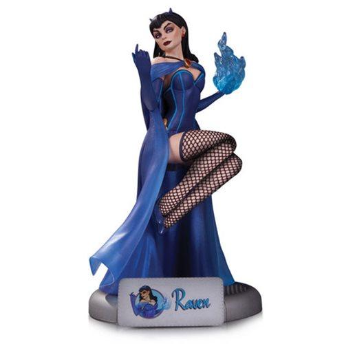 DC Comics Bombshells Raven Statue – Free Shipping