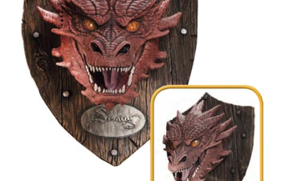 The Hobbit Smaug Head Resin Mounted Trophy – Free Shipping