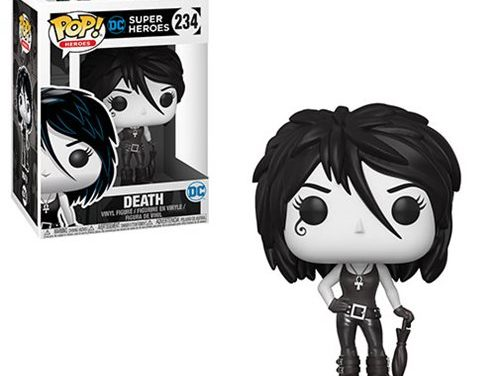 Sandman Death Black and White Pop! Vinyl Figure – Previews Exclusive