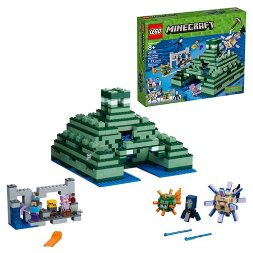 LEGO Minecraft Creative Adventures 21136 The Ocean Monument – Free Shipping