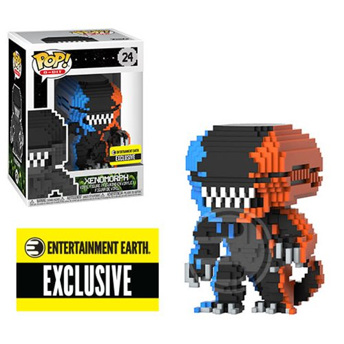 Alien Video Game Deco 8-Bit Pop! Vinyl Figure – Entertainment Earth Exclusive