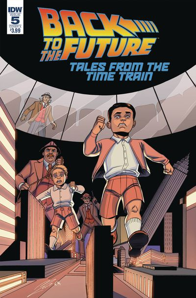 Back to the Future Time Train #5 (Cover A – Levens)