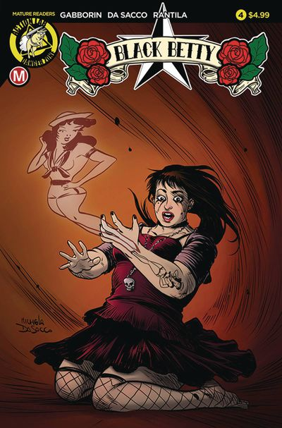 Black Betty #4 (Cover A – Da Sacco)