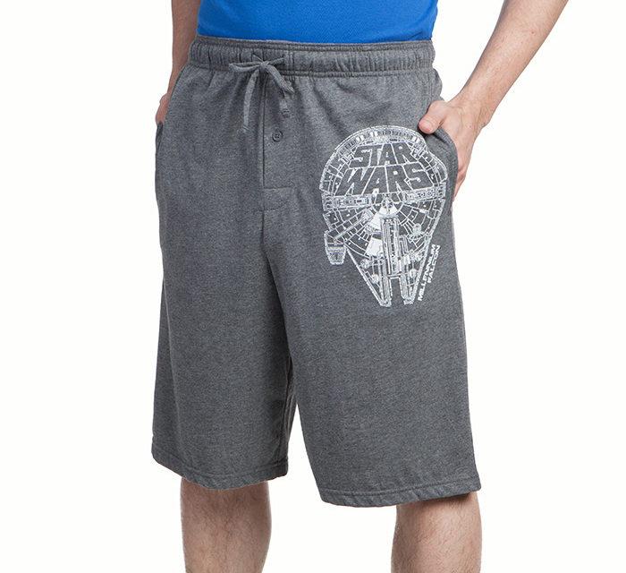 Star Wars Millennium Falcon Lounge Shorts