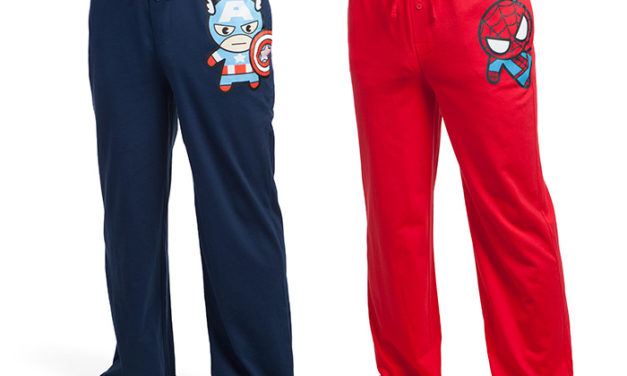 Marvel Chibi Heroes Lounge Pants