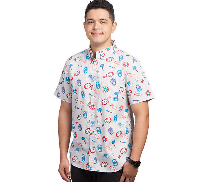 Marvel Minimal Short-Sleeve Shirt
