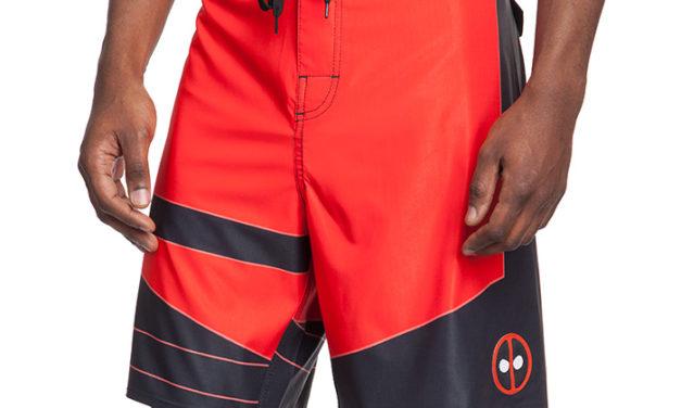 Deadpool Uniform Board Shorts