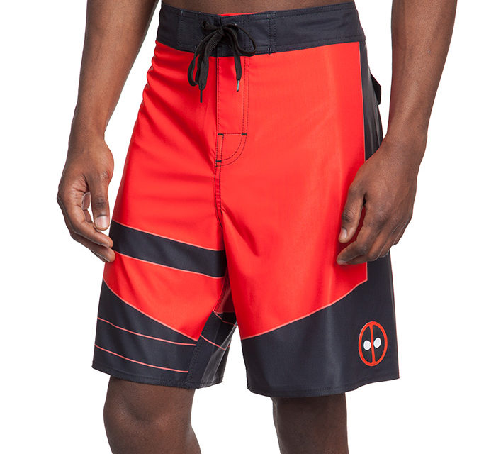 Deadpool Uniform Board Shorts