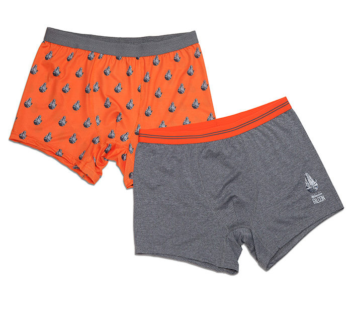 Millennium Falcon Boxer Brief 2pk