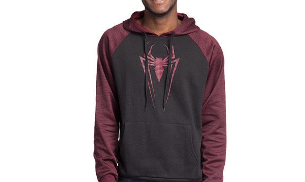 Spider-Man Textured Pullover Hoodie