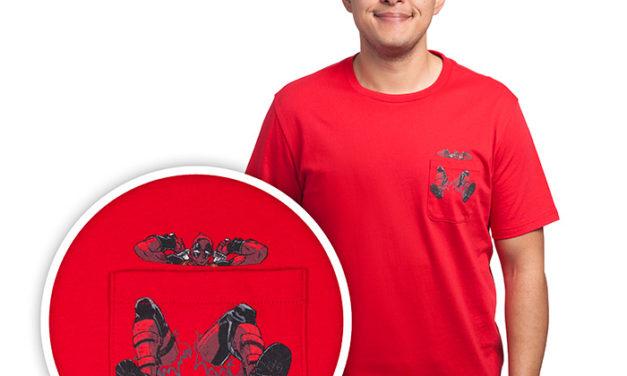 Deadpool Rip Pocket T-Shirt