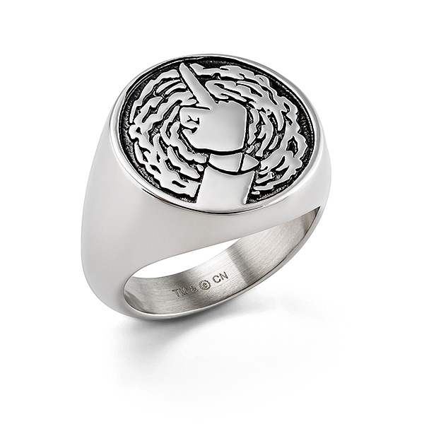 Rick and Morty Portal Signet Ring