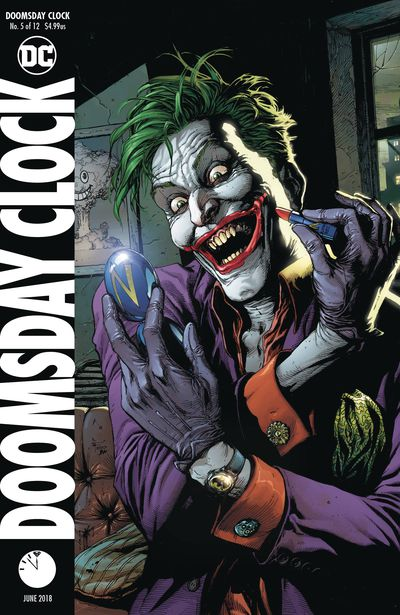 Doomsday Clock #5 (of 12) (Frank Variant)