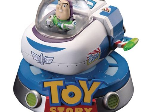 Toy Story Buzz Lightyear Floating Spaceship Egg Attack #032 Statue – Previews Exclusive – Free Shipping