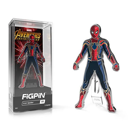 Marvel Avengers: Infinity War Iron Spider FiGPiN Enamel Pin