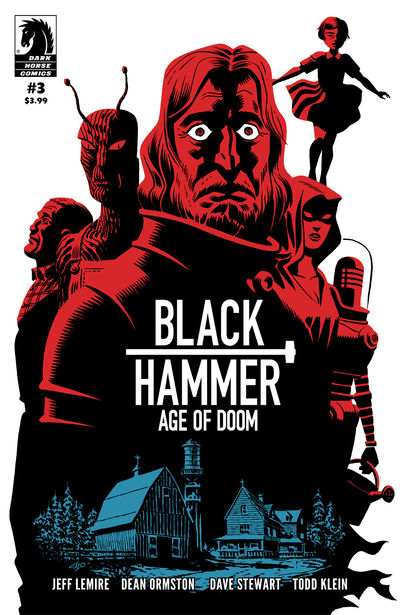 Black Hammer: Age of Doom #3 (Michael Cho Variant Cover)
