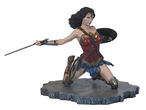 Justice League Movie Gallery Wonder Woman Statue