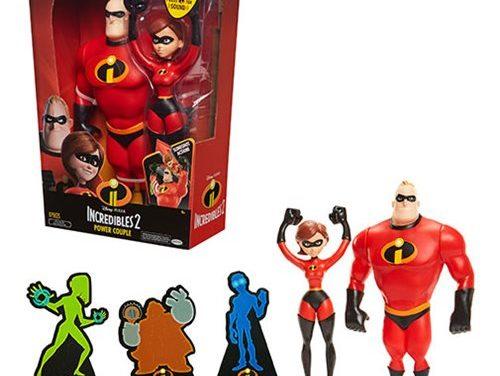 Incredibles 2 Mr. Incredible and Elastigirl 12-Inch Action Figure Set