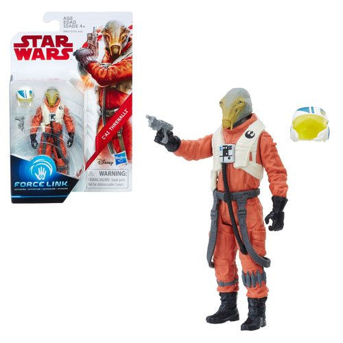 Star Wars: The Last Jedi C'ai Threnalli 3 3/4-Inch Action Figure – Exclusive