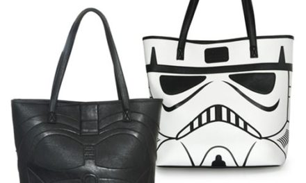 Star Wars Darth Vader and Storm Trooper 2-Sided Tote Purse