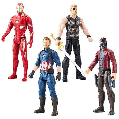 Avengers: Infinity War Titan Hero Series Power FX Port 12-Inch Action Figure Wave 1 – Free Shipping