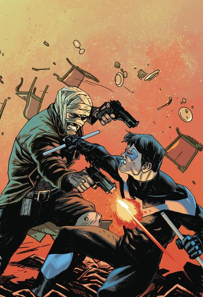Batman Prelude to the Wedding Nightwing vs Hush (One shot)