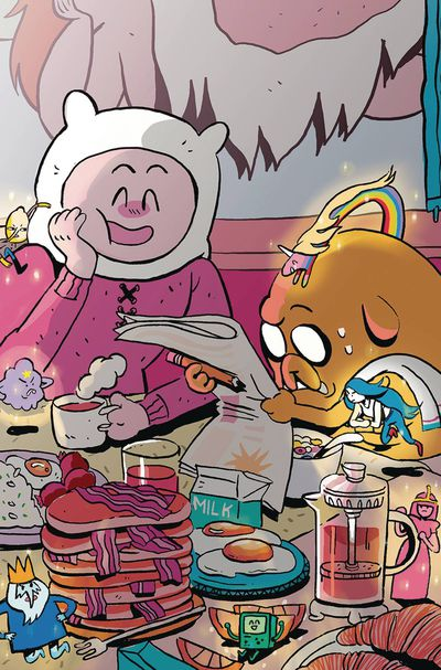 Adventure Time Beginning of End #2 (Subscription Daguna Variant)
