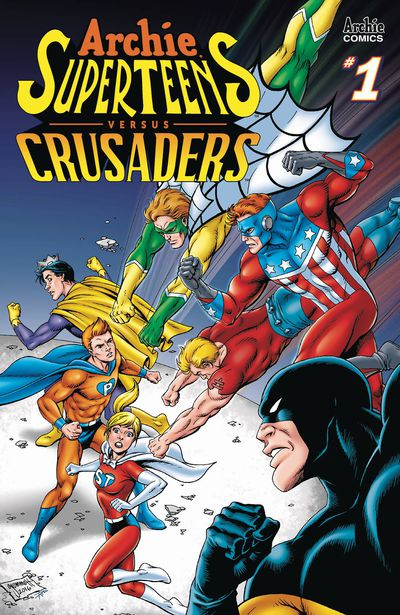 Archies Superteens vs Crusaders #1 (Cover B – Grummet