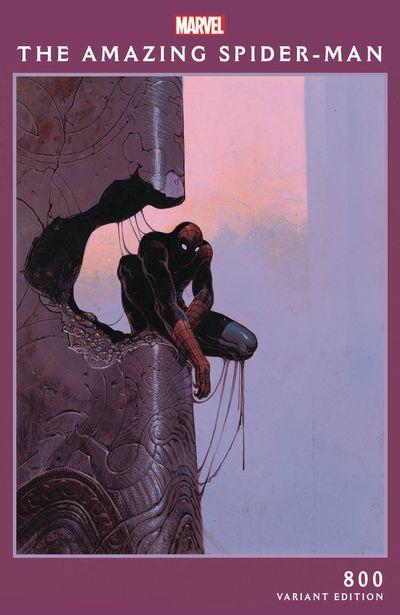 Amazing Spider-Man #800 (Moebius Variant)