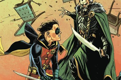 Batman Prelude to the Wedding Robin vs Ras Al Ghul (One shot)