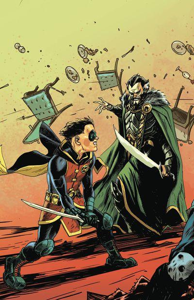 Batman Prelude to the Wedding Robin vs Ras Al Ghul (One shot)