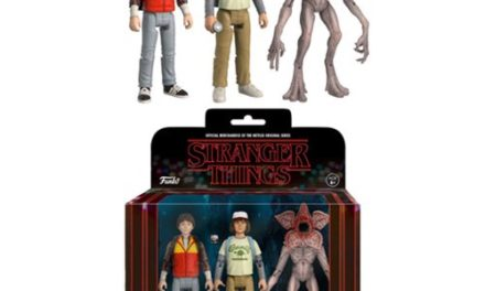 Stranger Things Action Figure 3-Pack Set #2
