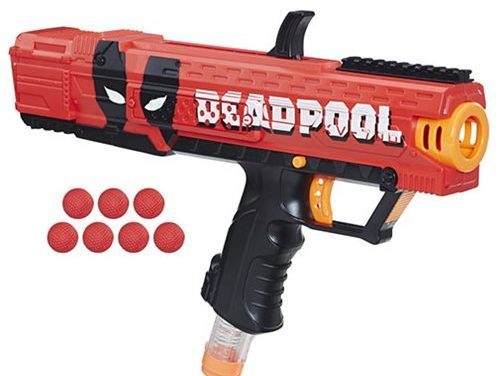 Deadpool Nerf Rival Apollo XV-700 Blaster
