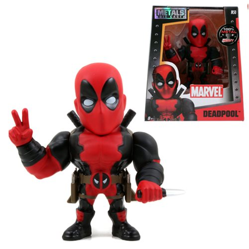 Deadpool 4-Inch Die-Cast Metal Action Figure