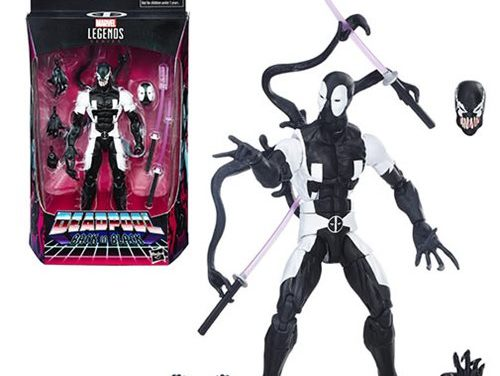 Deadpool Marvel Legends Back in Black 6-inch Deadpool Action Figure