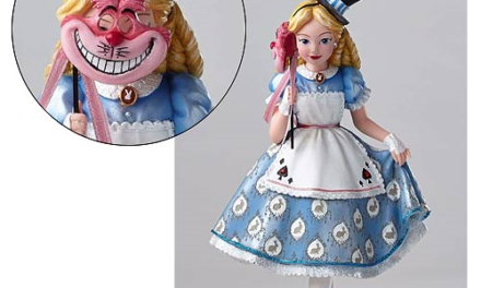 Disney Showcase Alice in Wonderland Masquerade Statue