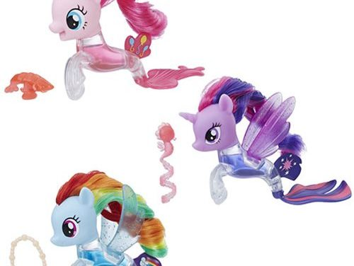 My Little Pony the Movie Flip & Flow Seapony Figures Wave 1