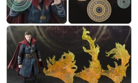 Doctor Strange & Burning Flame Set SH Figuarts Action Figure – Free Shipping