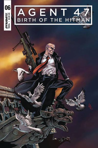 Agent 47 Birth of Hitman #6 (Cover A – Lau)