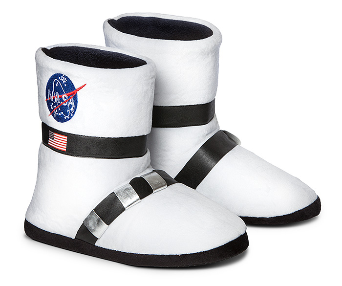 NASA Astronaut Boot Plush Slippers