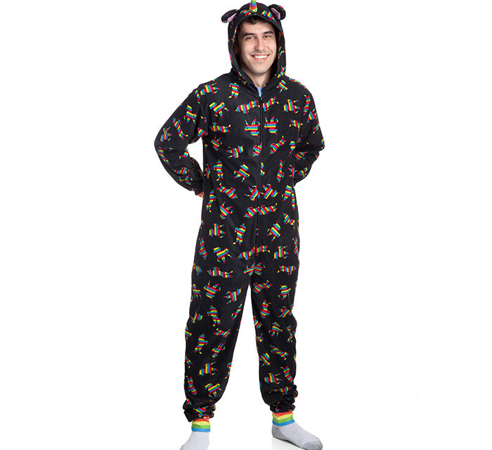 Rainbow Unicorn Hooded Lounger