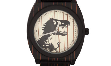 Jurassic World T. Rex Woodgrain Watch