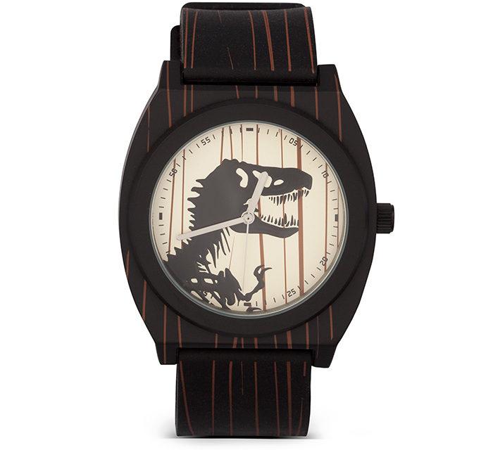 Jurassic World T. Rex Woodgrain Watch