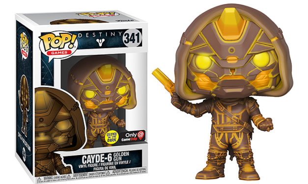 Funko POP! Destiny 2 Cayde with Golden Gun Vinyl Figure – Exclusive