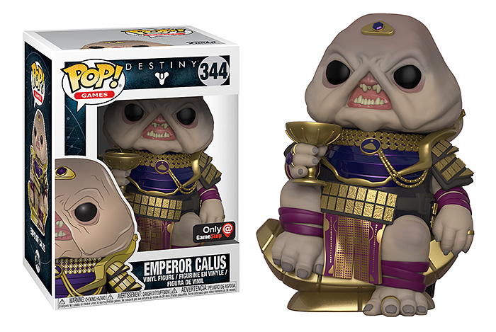 Funko POP! Destiny 2 Emperor Calus Vinyl Figure – Exclusive