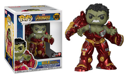 Funko POP! Hulk Busting Out of Hulkbuster Vinyl Figure