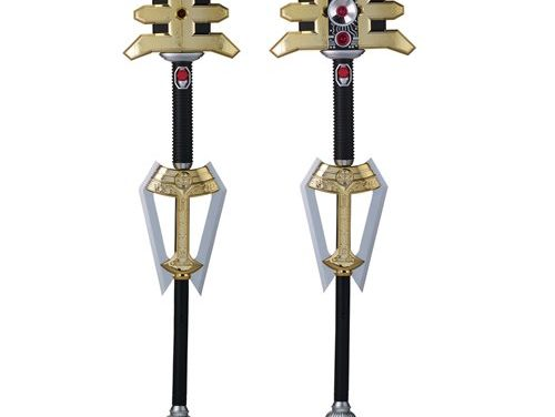 Power Rangers Legacy Zeo Golden Power Staff Prop Replica – Free Shipping