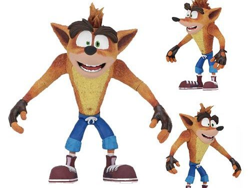 Crash Bandicoot 7-Inch Scale Action Figure
