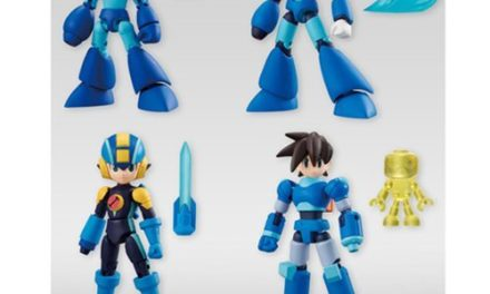 "Mega Man ""66 Action"" Mini-Figures Display Box – Free Shipping"